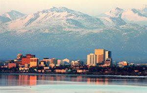 View from Anchorage, AK real estate